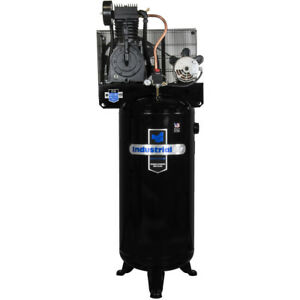 Industrial Air 5 Hp 60 Gal Compressor W century no Mag Starter Iv5076055 New