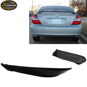 Fits 02 03 Toyota Camry Pu Rear Bumper Lip Spoiler Poly Urethane
