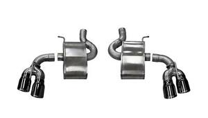 Corsa 2 75 Polished Xtreme Axle back Exhaust For 2016 Chevrolet Camaro Ss 6 2l