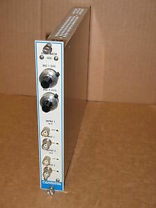 Canberra Dual Discriminator Model 2032 Nim Bin Module Plug In Usa