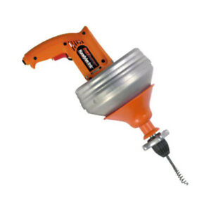 Handylectric Motorized Drain Cleaner W Two 25 Cables