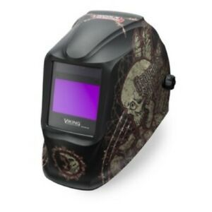 Lincoln Electric Viking Graveyard Shift 2450 Welding Helmet K3099 3