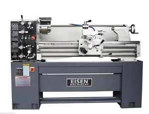 Eisen 1440e 14 X 40 Precision Engine Lathe With Dro And 2 speed Motor