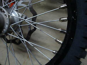MOTORCYCLE SPOKE WHEEL BALANCING SPOKE WEIGHTS NICKEL RIMLOCK KIT USA SELLER $71.00