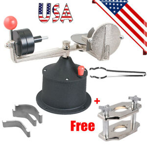 Usa Centrifugal Casting Machine Crucibles Dental Jewelry Centrifuge Complete Kit