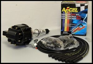 Ford Six 6 Cyl 144 170 200 250 Hei Distributor Accel Wires 6527 bk 5040 k kit