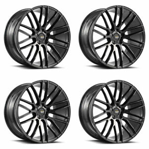 20 Savini Bm13 Gloss Black Concave Wheels Rims Fits Jaguar Xkr