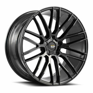 22 Savini Bm13 Gloss Black Concave Wheels Rims Fits Porsche Cayenne S Turbo Gts