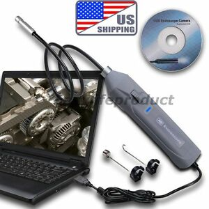 Us Hd Usb Video Inspection Camera Endoscope Borescope Scope 8 5mm Camera 1m Tube