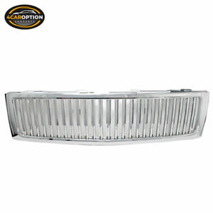 Fits 07 13 Chevy Silverado Vertical Front Hood Grill Grille