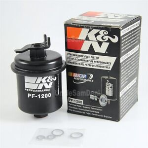 Kn K N Performance High Flow Rate Fuel Filter Factory Oe Fit Honda Acura Engine