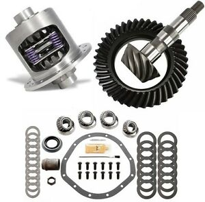 Gm Chevy 12 Bolt Truck 4 56 Motive Ring And Pinion Duragrip Posi Gear Pkg