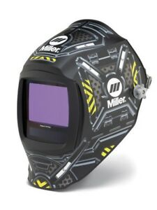 Miller Digital Infinity Adf Helmet 13 4sq In Viewable Black Ops 271333