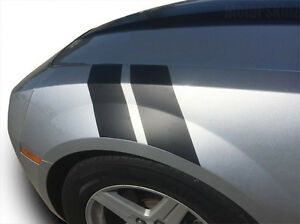 Fender Racing Hash Stripes Vinyl Decal For 2010 2011 2012 2014 2015 Chevy Camaro