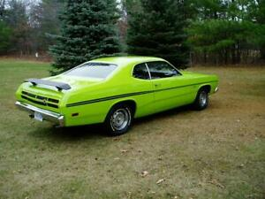 Side Tail Stripes Stripe Kit For 1970 Plymouth Duster