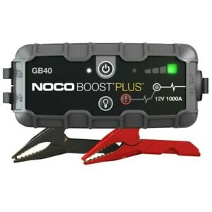 Noco Gb40 Genius Boost Plus Jump Starter 1000 Amp Start Dead Batteries