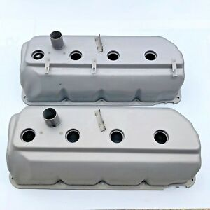 426 Hemi Valve Covers 66 69 Repro Mopar Dodge Plymouth Primed Ready 4 Paint