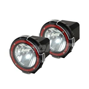 2pcs 7inch Xenon Hid Work Light 55w 24v Offroad Truck Boat Atv Lamp Spot Beam
