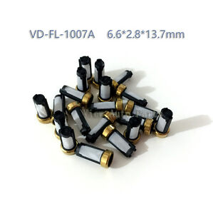 100pcs Fuel Injector Micro Basket Filter Fit For Ford Car Marelli Weber Asnu04c