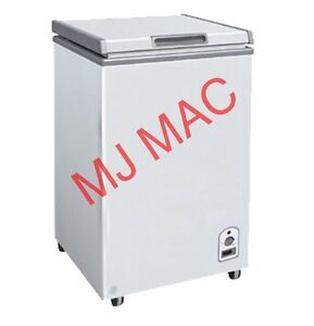 New Maxx Cold Mxh3 5s X series Chest Freezer Solid Lid