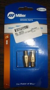 Miller Genuine Contact Tip Adapter For Millermatic 212 252 Qty 2 169728