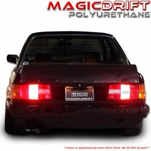 84 92 Bmw E30 3 series Rb High Kick Style Poly Ducktail Trunk Spoiler Dtm Drift