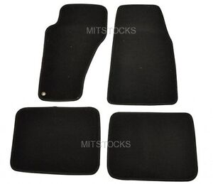 Fit For 1999 2004 Jeep Grand Cherokee Black Nylon Carpet Floor Mats 4 Pieces New