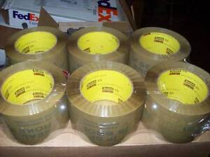 3m Security Packing Tape 3 Carton Packaging Shipping Sealing Tamper Proof