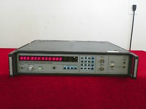 Eip 548b Microwave Frequency Counter 10hz 26 5ghz W opt 05 06 08 Nist Cal ed
