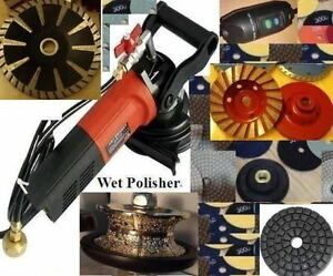 Wet Granite Stone Concrete Polisher 3 4 Full Bullnose Cup Pad Buff Convex Blade