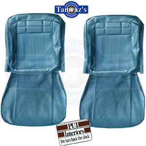 1962 Impala Front Rear Seat Upholstery Covers Pui New