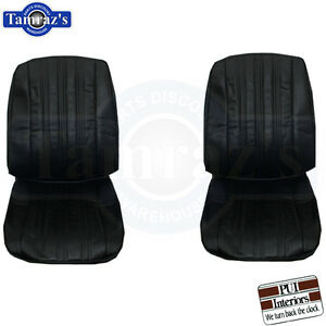 1966 Impala Ss Front Seat Upholstery Covers Pui New