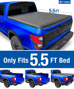 Tyger T1 Roll Up Tonneau Cover For 2004 2015 Nissan Titan 5 5ft Bed