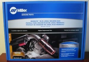 Miller Genuine M 25 15 250a Mig Gun For Millermatic 212 252 030 035