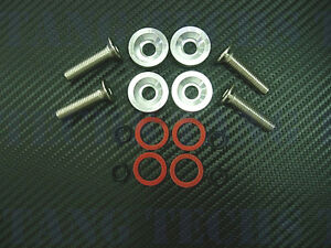 Werkz Silver Valve Cover Washers Kit For Integra Gsr V Tec Civic 99 00 Si