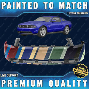 New Painted To Match Front Bumper Cover Fascia For 2010 2012 Ford Mustang Gt
