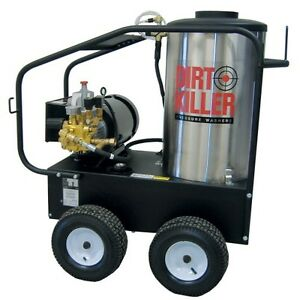 Dirt Killer E3000 Hot Water Single Phase Electric Pressure Washer 3000 Psi