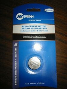 Miller Replacement Battery For Performance Elite Series Helmets Qty 1 217043