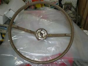 Vintage Ford Steering Wheel Nice