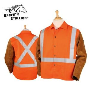 Revco Black Stallion Hi vis Fr Hybrid Welding Jacket Jh1012 or