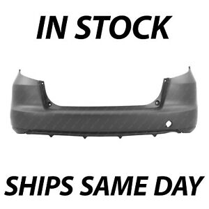 New Primered Rear Bumper Cover Replacement For 2009 2014 Honda Fit 09 14