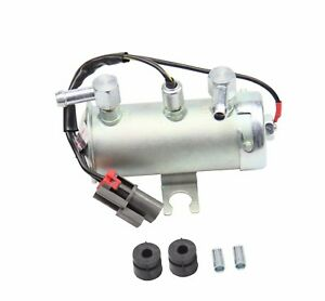 24v Electric Universal Petrol Diesel Fuel Pump Facet Silver Style Tractor