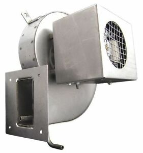 Packard 82590 Induced Draft Furnace Blower 6 7 8 w x 10 h 115v Metal Housing