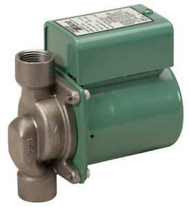 Taco 006 st4 1 Hot Water Circulator Pump Ss 1 40 Hp