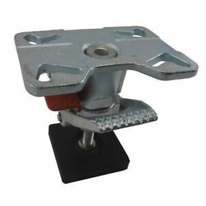 Adjustable Floor Lock top Plate 11 1 2in Zoro Select 1vjn5