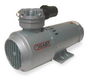 Gast 2hah 251 m322 Piston Air Compressor 1 3hp 12vdcv