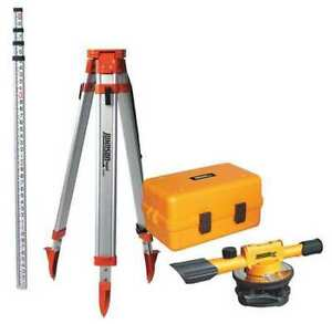 Builders Level Kit 22x 200 Ft Johnson 40 6902