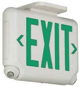 Hubbell Lighting Dual lite Evcugw Hubbell Lighting Duallite Led Exit Sign