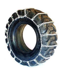 Titan Light Truck Link Tire Chains On Road Snow Ice 7mm 38x15 50 15