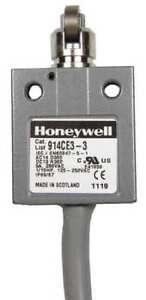 1nc 1no Spdt Limit Switch Cross Roller Plunger Honeywell Micro Switch 914ce3 3